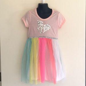 Girls 6x Unicorn Dress